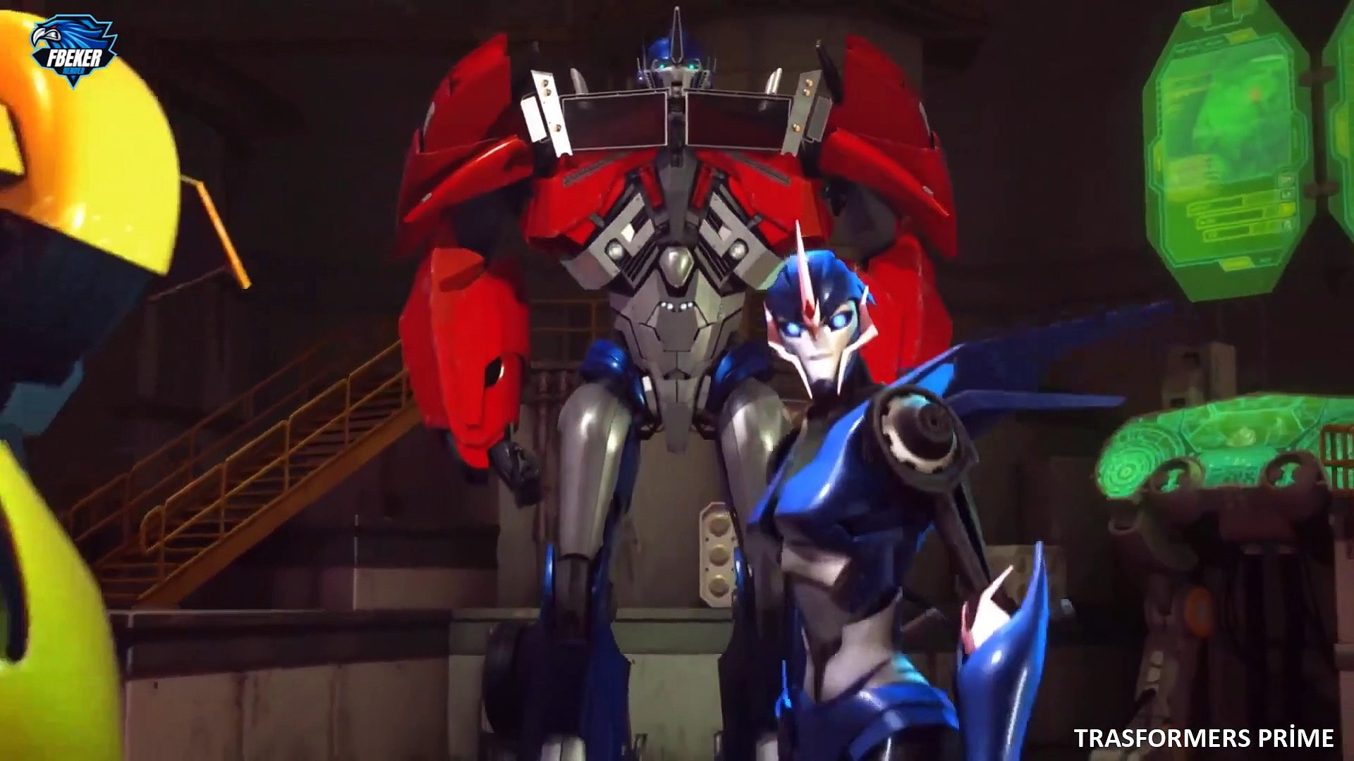 Transformers Prime 46.Bölüm Miras Full Hd