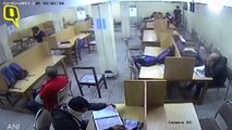 Delhi Police's Clip Shows Jamia Students Enter Library With Stones