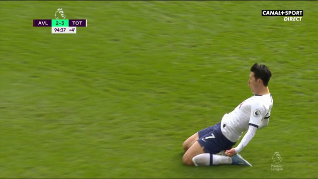 Son offre la victoire à Tottenham à la dernière seconde !