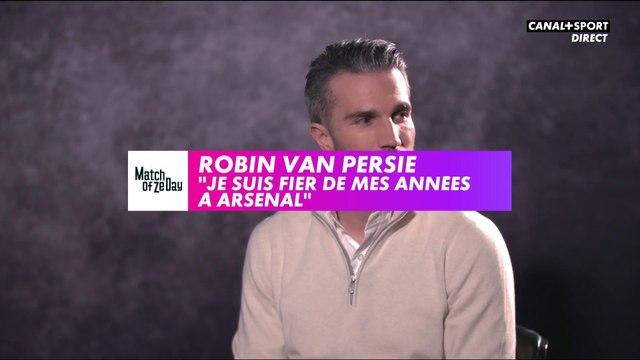 """Van Persie : """"Je suis fier de mes années à Arsenal"""""""