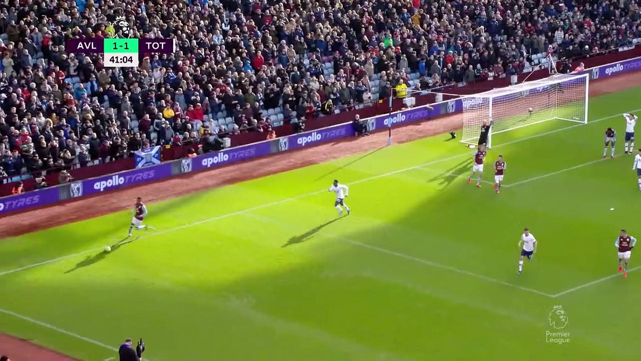 Aston Villa - Tottenham (2-3) - Maç Özeti - Premier League 2019/20
