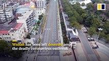 China coronavirus_ drone footage reveals 'ghost town' Wuhan