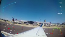 Boston to New York  Flight ✈️ GoPro Gauges