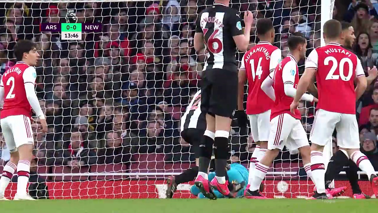 Arsenal - Newcastle (4-0) - Maç Özeti - Premier League 2019/20