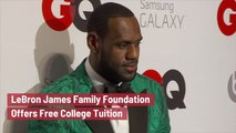 The LeBron James Family Foundation Is Creating Opportunities