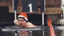 بطولة السباحة في المياه الجليدية