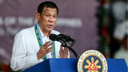 Philippine's President Says Trump Should Be Re-elected