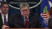 Former Justice Dept. officials call on Barr to resign