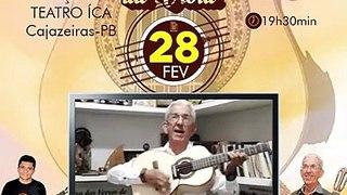 Teatro Ica receberá Encontro de Gerações da Viola com famosa dupla de repentistas em Cajazeiras