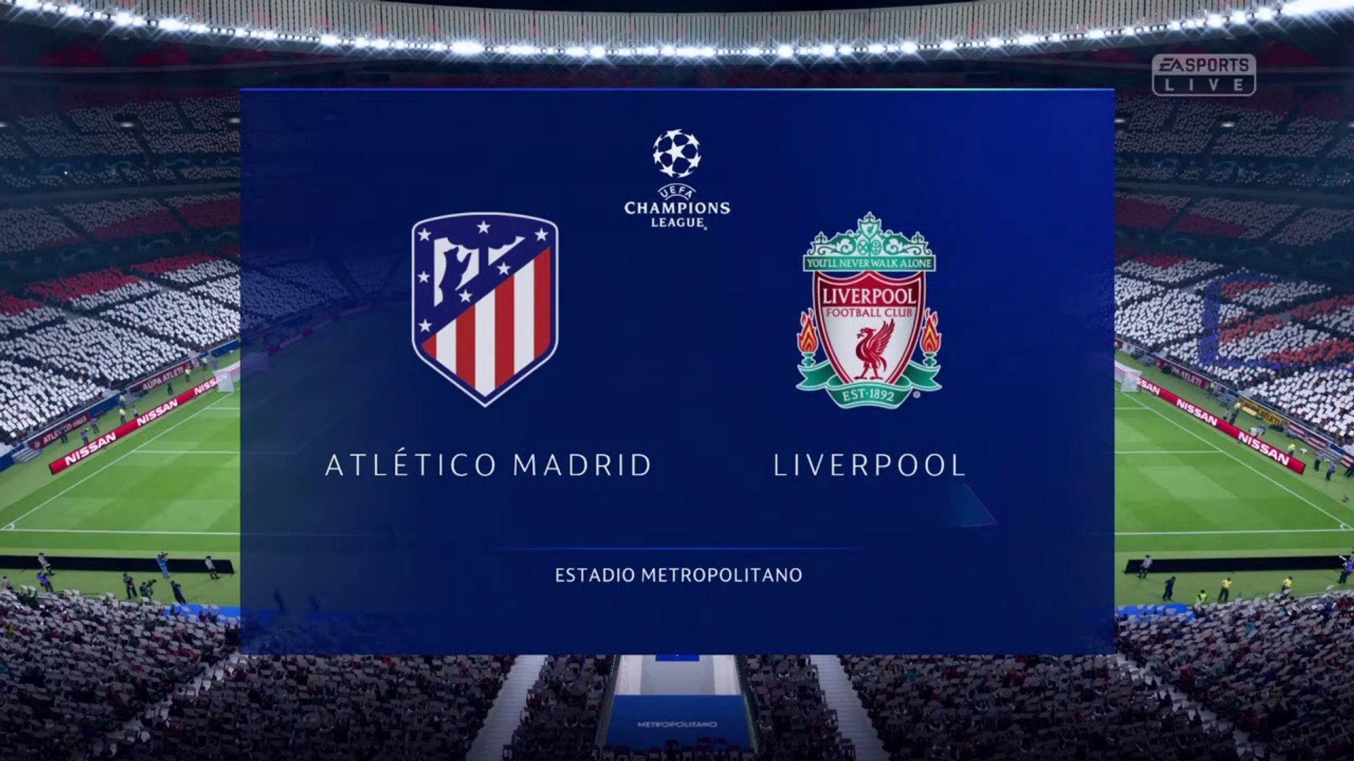Atlético Madrid vs Liverpool 2020 - Round of 16- UEFA Champions League 2019-2020 HD FIFA 20