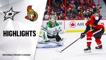 NHL Highlights | Stars @ Senators 2/16/20