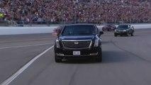 Trump takes limousine lap before Daytona 500 race