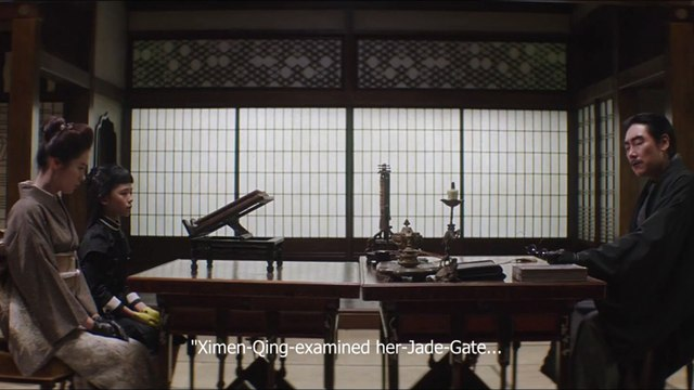The Handmaiden - scene from the film - Ah-ga-ssi
