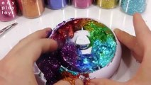 Edy Play Toys - ABC Song - Learn Colors Egg Surprise Toys Slime Glue Water Balls Glitter Rotation Case DIY