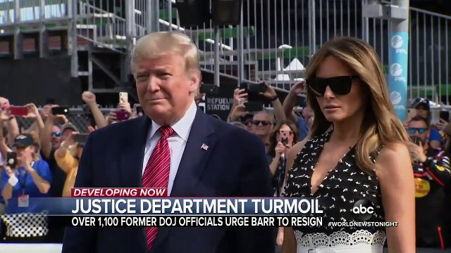 President Trump and Attorney General Barr under fire