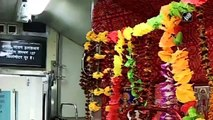 For the first time ever, a seat reserved for a deity in Kashi Mahakal Express