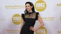 Drew Carey's ex-fiancee, Dr. Amie Harwick 2020 XBIZ Awards Red Carpet Fashion
