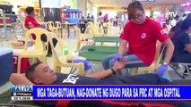 Mga taga-Butuan, nag-donate ng dugo para sa PRC at mga ospital