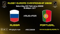 RUSSIA / PORTUGAL - RUGBY EUROPE CHAMPIONSHIP 2020