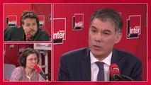 """Olivier Faure (Parti socialiste) """"redoute"""" l'usage du 49.3 sur la réforme des retraites : """"Je l'ai été dans le précédent quinquennat, je suis contre le 49.3, ça tue le débat parlementaire"""""""