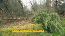 La tempête Dennis a plongé dans le noir des dizaines de milliers de foyers