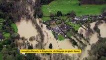 Tempête Dennis : le Pays de Galles sous les eaux