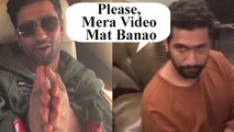 Vicky Kaushal's Reaction As Karan Johar Makes His Video Again