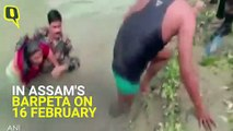 Army Jawans Rescue Drowning Woman in Assam's Barpeta