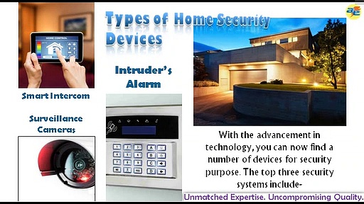 3 Important Types of Home Security Systems