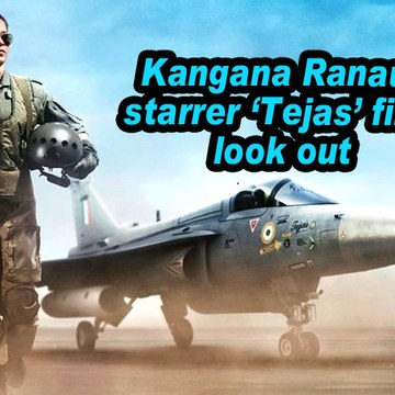 Kangana Ranaut starrer 'Tejas' first look out