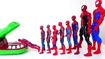 Marvel Superheroes Dive into the Crocodile Spiderman, Hulk, Iron Man Defeat Thanos Toys For Kids