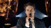 Eurovision 2020: Tom Leeb dévoile la chanson de la France... sur la Tour Eiffel !