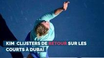 Kim Clijsters de retour sur les courts à Dubaï