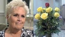 Elle reçoit des fleurs de son mari décédé le jour de la Saint-Valentin
