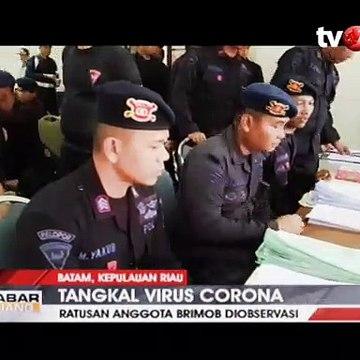 Pasca Pengamanan WNI, 229 Anggota Brimob Riau Diobservasi