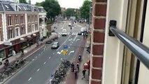 Heures de pointe à Amsterdam