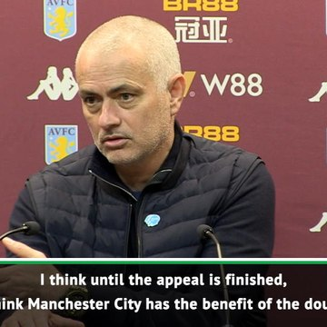 Banned Man City should have the benefit of the doubt - Mourinho