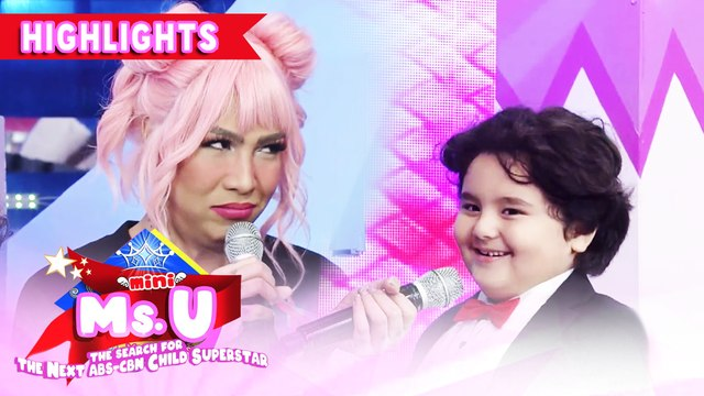 Jordan jokes about Vice's armpit | It's Showtime Mini Miss U