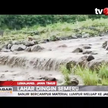 Nekatnya Puluhan Penambang Pasir saat Lahar Dingin Semeru
