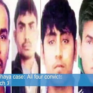 Nirbhaya case: All four convicts to be hanged at 6am on March 3