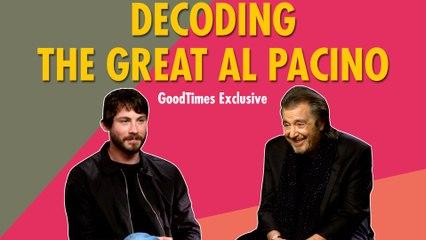 Hollywood Legend Al Pacino Confesses His Insecurities | Hunters | Logan Lerman