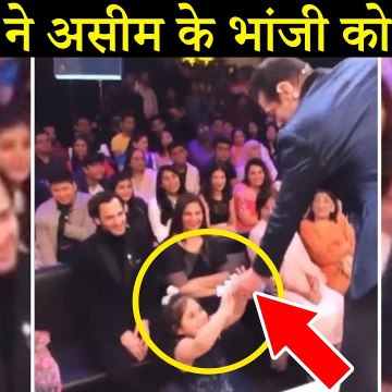 Salman Khan Shares Chocolates With Asim Riaz's Niece In Sweet Moment From Bigg Boss 13 Finale