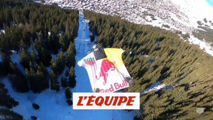 Les Soul Flyers à Verbier - Adrénaline - Wingsuit
