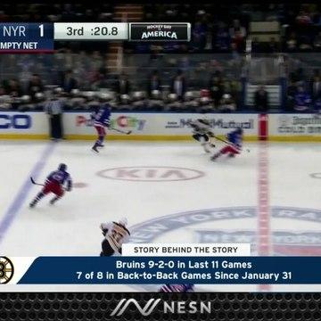Bruins Keep Rolling Despite Four Sets Of Back-To-Back Games