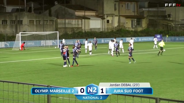 National 2 | OM - Jura Sud (5-4) : Les buts