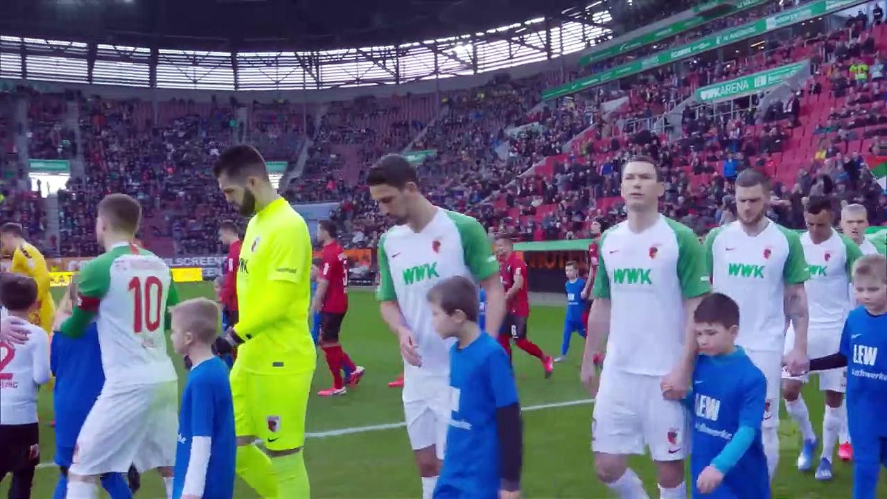 Augsburg - Freiburg (1-1) - Maç Özeti - Bundesliga 2019/20