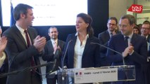 Les larmes d'Agnès Buzyn lors de la passation de pouvoir avec Olivier Véran