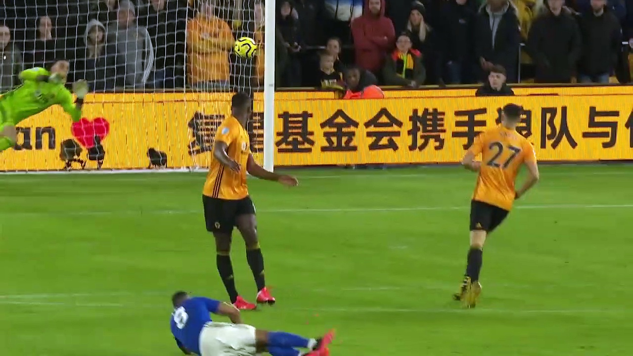 Wolves - Leicester City (0-0) - Maç Özeti - Premier League 2019/20