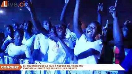 En tournée pour la paix à Yopougon, Tiken Jah exhorte à l'unité des fils et filles du pays