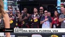 Donald Trump donne le départ du Daytona 500, célèbre course de NASCAR